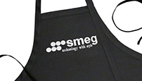 SMEG embroidered logo apron