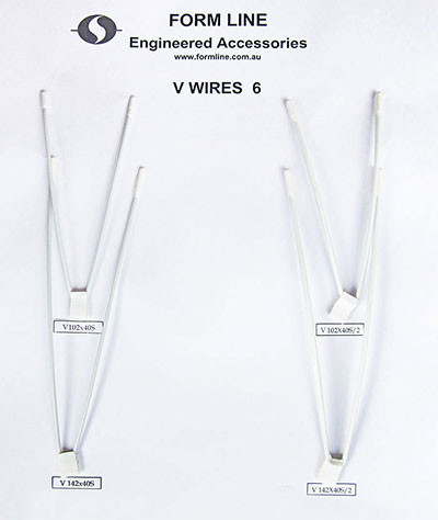 V specialty underwires