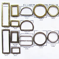 Fittings D Rings, Hooks Slides